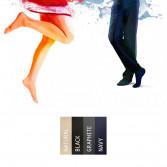 GAMBALETTO VENOTRAIN ACT MICROFIBER ACTIVE Uomo o Donna | Calze in Microfibra a Compressione Graduata | BAUERFEIND