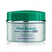 Crema protettiva notte 50 ml | Trattamento nutriente | SOMATOLINE COSMETIC Vital Beauty