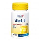 Vitamin D 4000UI 60 Cpr | Integratore di Vitamina D alto dosaggio | LONGLIFE