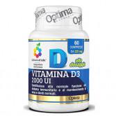 Vitamina D3 2000 UI | Vitamina D alto dosaggio | OPTIMA NATURALS