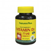 Vitamina D3 180 perle | Integratore di Vitamina D3 1000 u.i. | NATURE'S PLUS