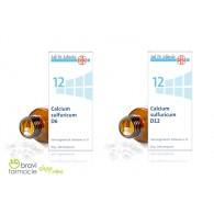 12 CALCIUM SULFURICUM Solfato di Calcio 50 g 200 cpr | SCHWABE - Sali Dr.Schussler