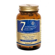 7 Collagene Vitamina C ed Estratti d'erbe 30 cps | SOLGAR