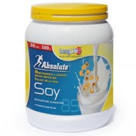 ABSOLUTE SOY Proteine isolate di soia 30 dosi 500 g | LONGLIFE