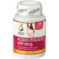 ACIDO FOLICO 120 cpr | OPTIMA NATURALS - Colour of Life