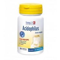 ACIDOPHILUS Integratore probiotico con FOS 30 tav | LONGLIFE