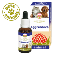 AGGRESSIVE Fiori Australiani Gocce 30 ml | BUSH FLOWER - Essence Animal