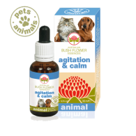 AGITATION&CALM Fiori Australiani Gocce 30 ml | BUSH FLOWER - Essence Animal
