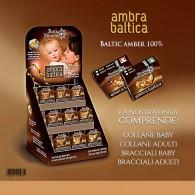 COLLANA BABY in Ambra Baltica | ANTICO RIMEDIO