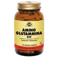 AMINO GLUTAMMINA 500 L-Glutammina 50 Cps veg | SOLGAR