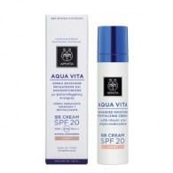 BB CREAM LIGHT SPF 20 40 ML | BB Cream viso idratante | APIVITA - Aqua Vita