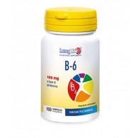 B 6 Integratore di vitamina B6 (piridossina) 100 cpr | LONGLIFE