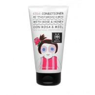 CONDITIONER ROSE & HONEY 150 ML | Balsamo capelli rosa e miele | APIVITA - Natural Kids
