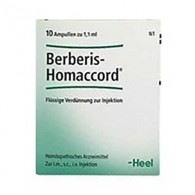 BERBERIS HOMACCORD 10 Fiale   GUNA - Heel