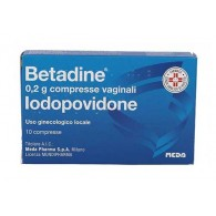 BETADINE Ginecologico | 10 Compresse Vaginali 200 mg