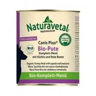 BIO PUTE Tacchino, zucca e barbabietola | NATURAVETAL - Canis Plus