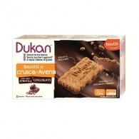 BISCOTTI DI CRUSCA D'AVENA con strato di cioccolato   DUKAN - Expert
