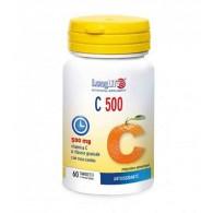 C 500 Vitamina C con Rosa Canina 60 TAV | LONGLIFE