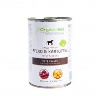 PFERD & KARTOFFEL 400 g  | Umido a base di cavallo e patate per CANI | ORGANICVET