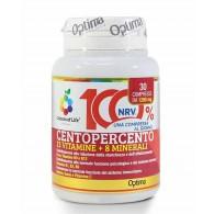 CENTOPERCENTO 13 vitamine + 8 minerali 30cpr | OPTIMA NATURALS