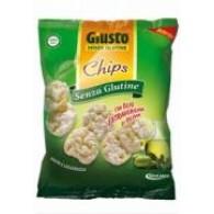 CHIPS OLIO EXTRVERGINE D'OLIVA   GIUSTO