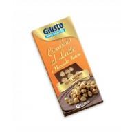 CIOCCOLATO AL LATTE CON NOCCIOLE INTERE | GIUSTO - Senza Zucchero
