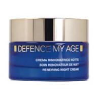 CREMA RINNOVATRICE NOTTE Nutrimento e compattezza 50 ml | BIONIKE - Defence My Age
