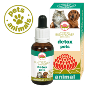 DETOX PETS Fiori Australiani Gocce 30 ml | BUSH FLOWER - Essence Animal