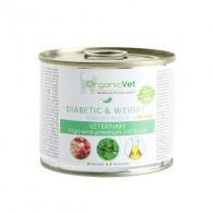DIABETIC & WEIGHT+ MORINGA Cibo umido per GATTI con diabete 200 g | ORGANICVET
