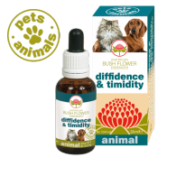 DIFFIDENCE&TIMIDITY Fiori Australiani Gocce 30 ml | BUSH FLOWER - Essence Animal