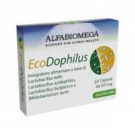 KEFIRDOPHILUS 30 CPS Integratore di Batteri Lattici   ALFABIOMEGA