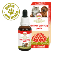 EMERGENCY PETS Fiori Australiani Gocce 30 ml | BUSH FLOWER - Essence Animal