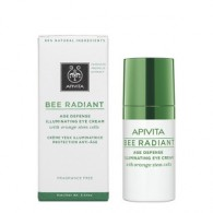 EYE CREAM 15 ML | Contorno occhi antiage illuminante | APIVITA - Bee Radiant