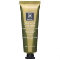 FACE SCRUB a base di oliva 50 ML | Scrub viso per pelle grassa/mista | APIVITA
