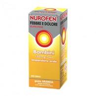 NUROFEN FEBBRE E DOLORE | Sciroppo Bambini 100 mg/5 ml -  Gusto Arancia - 150 ML