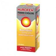 NUROFEN FEBBRE E DOLORE | Sciroppo Bambini 100 mg/5 ml - Gusto Fragola - 150 ML