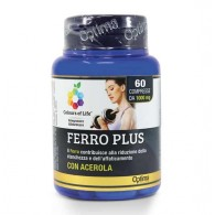 FERRO PLUS ACEROLA 60 cpr | OPTIMA NATURALS - Colours Life