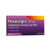 FEXALLEGRA | 10 Compresse riv. 120 mg