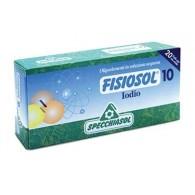 10 IODIO Funzione tiroidea 20 Fiale | SPECCHIASOL - Fisiosol