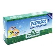 5 ZINCO NICHEL COBALTO Regolatore endocrino 20 Fiale | SPECCHIASOL - Fisiosol