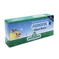 6 ZINCO RAME Disturbi ormonali 20 Fiale | SPECCHIASOL - Fisiosol