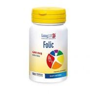 FOLIC 400 mcg con Acido Folico 100 cpr | LONGLIFE