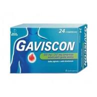 GAVISCON | 24 Compresse alla Menta 500 mg + 267 mg