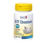 GTF CHROMIUM 200 mg Metabolismo del glucosio 100 CPR | LONGLIFE