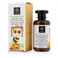 HAIR & BODY WASH 200 ML | Detergente corpo capelli | APIVITA - Eco Bio Baby Kids