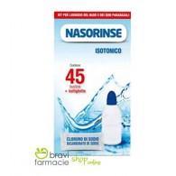 KIT ADULTI Bottiglietta + 45 bustine | NASORINSE - Isotonico