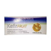 KEFIR FRUIT Integratore di batteri lattici, glucosamina e glutamina 14 BUSTE | ALFABIOMEGA