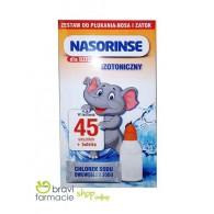 KIT PEDIATRICO Bottiglietta + 45 Bustine | NASORINSE - Isotonico