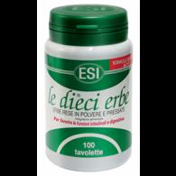 LE DIECI ERBE 100 tavolette   ESI - Gastrointestinale