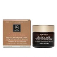 LIGHT TEXTURE CREAM 50 ML | Crema antiage globale leggera | APIVITA - Queen Bee